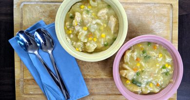 Recipe: Easy Stovetop Chicken & Dumplings